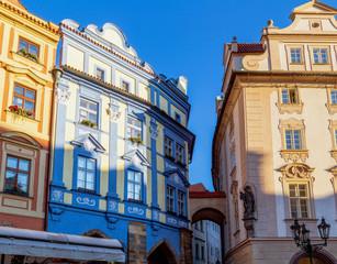 Prague: buildings and architecture details