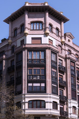 Spanish building. Madrid