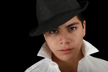 Handsome latino Actor