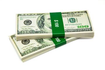 billetes de cien dolares