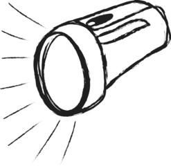 doodle flashlight