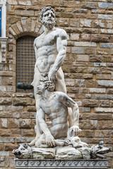 """Hercules and Cacus statue """"Piazza della Signoria"""" Florence"""