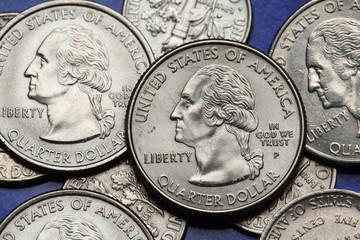 Coins of USA. George Washington
