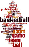 Fototapety Basketball word cloud concept. Vector illustration