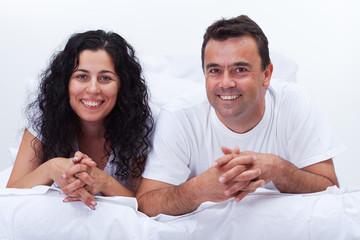 Simply happy couple
