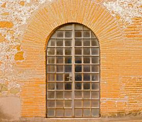 Old Door in Rome, Italy
