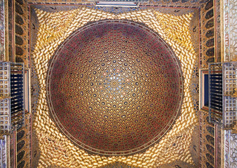 Dome in Alcazar palace