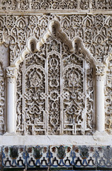 Decorative niche in Alcazar palace