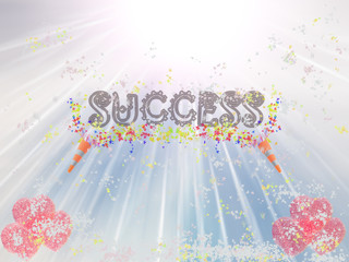 Success Word Showing Income Earned From Business, Success,
