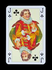 Spielkarten in Luxus und Nostalgie - Kreuz Bube