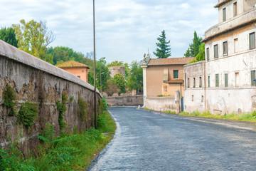 Via Appia, Rome, Italy.