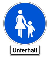Unterhalt Schild #141201-svg10