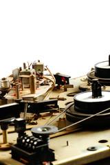 reel tape recorder mechanism vintage