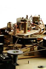 reel tape recorder mechanism vintage 2