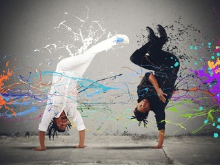 Capoeira fight