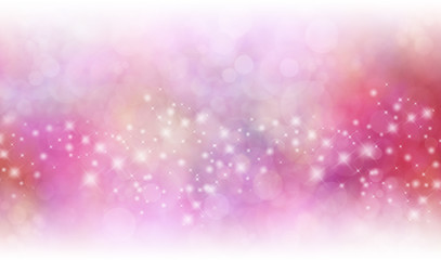 Christmas starry glitter background banner