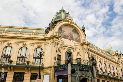 Foto op Canvas Praag Prague Municipal House