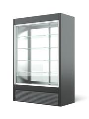 Merchandising refrigerator