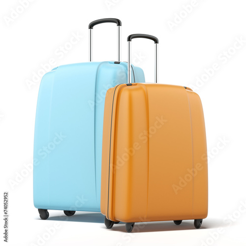Two large polycarbonate suitcases - 74052952
