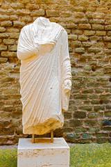Tomb statue Rome, Italy.