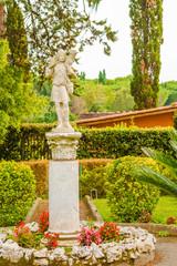 Good Shepherd statue in Rome, Italy.