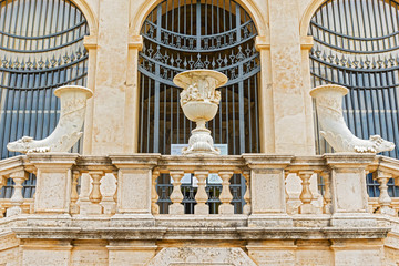 Villa Borghese museum in Rome, Italy.