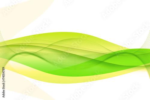 Leinwandbild Motiv Abstrakt Hintergrund  Wellen rauch