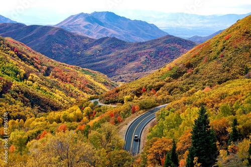 Indian Summer Utah - 74055578