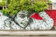 Leinwandbild Motiv graffiti portrait 3
