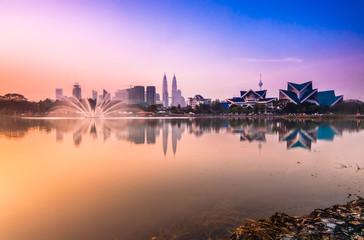 Kuala Lumpur reflection