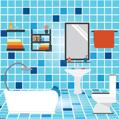 Vector of bathroom