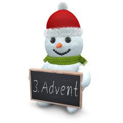 3D - Snowman - Shot 50
