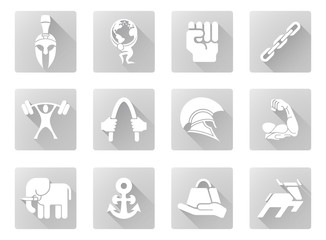 Strength icons