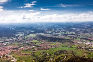 landscape mountainous terrain