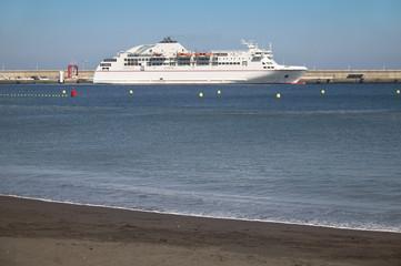 Port of San Sebastian de la Gomera. Canary Islands. Spain