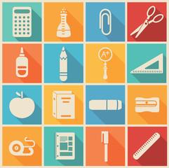 Set school icons