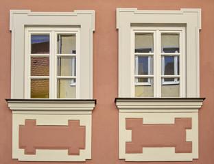 vintage home windows, Bamberg, Germany