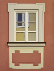 vintage home window, Bamberg, Germany