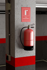 fire extinguisher
