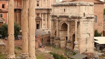Италия. Римский форум. Музей