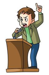 podium speech