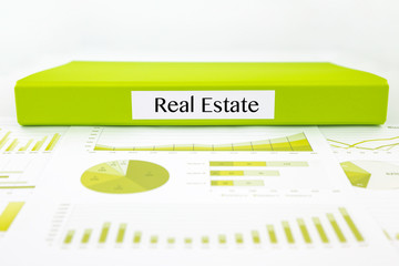 Real estate documents, graphs analysis and reports