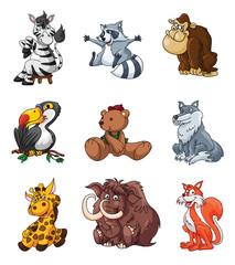 animals safari big set