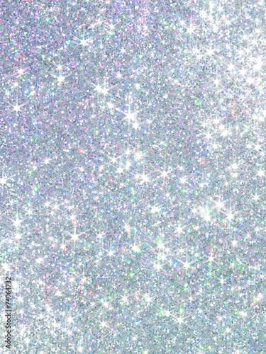 Fototapeta Polarization pearl sequins, shiny glitter background