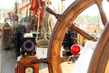 ancient navigation equipment sailing ship