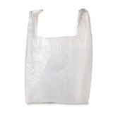 Plastic Grocery Bag / with clipping path