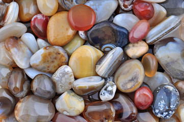 Natural Agate, various types and color..