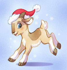 Little Goat - Symbol of New Year 2015