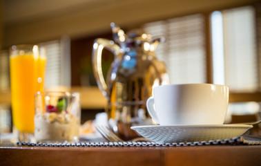 Morning Hotel Breakfast