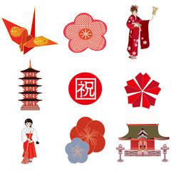 お正月素材 Japanese new year